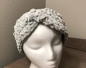 Light Grey Soft Headband / Earwarmer