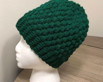 Hunter Green Winter Hat 2dd3f371380