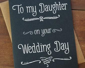 Daughter wedding   Etsy
