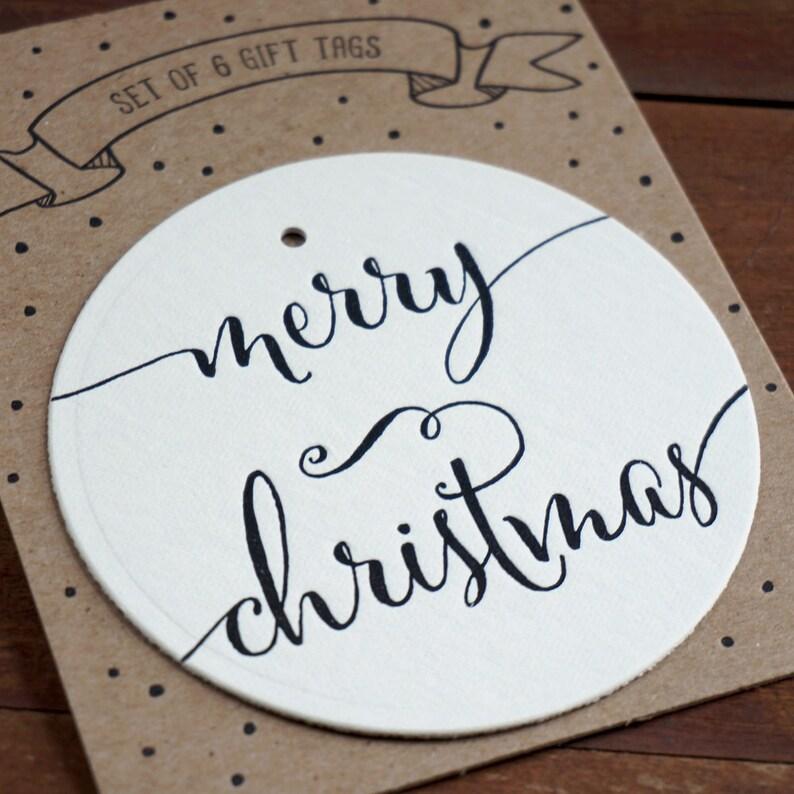 Letterpress Christmas Gift Tags Christmas Packaging Holiday image 0