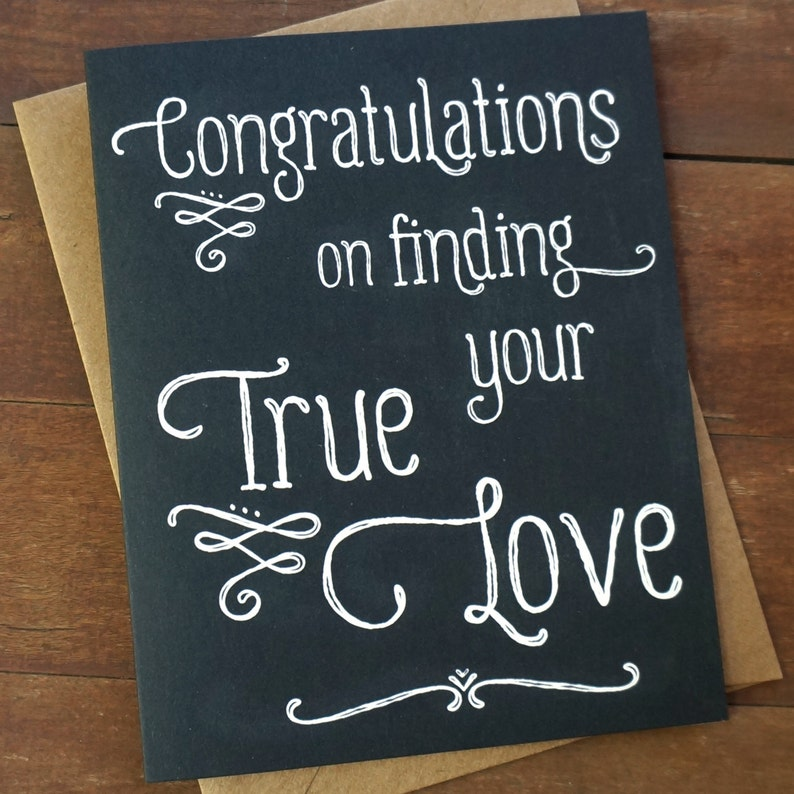 Wedding Congratulations Card  Wedding Gifts for Couple image 0