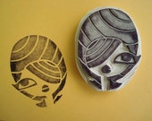 Beehive Hand Carved Stamps