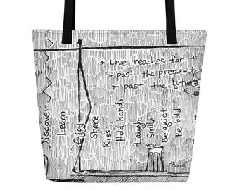 Love Reaches - Big Tote Bag