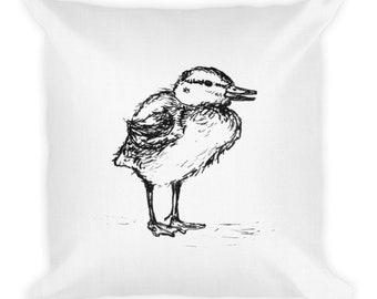 Duckling (facing right) - Premium Pillow