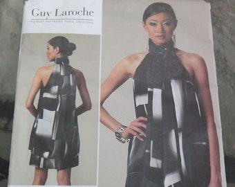 Vogue Paris Original 1240 GUY LAROCHE Dress Sewing Pattern size 4 6 8 10 UNCUT