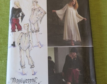 Simplicity 2777 Misses Costume Arkivestry Haunt Couture Gothic Wispy Steampunk Tunic and Bloomers Sewing Pattern sz 6 8 10 12 UNCUT