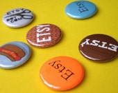 ETSY Buttons Variety Pack (Set of 6)