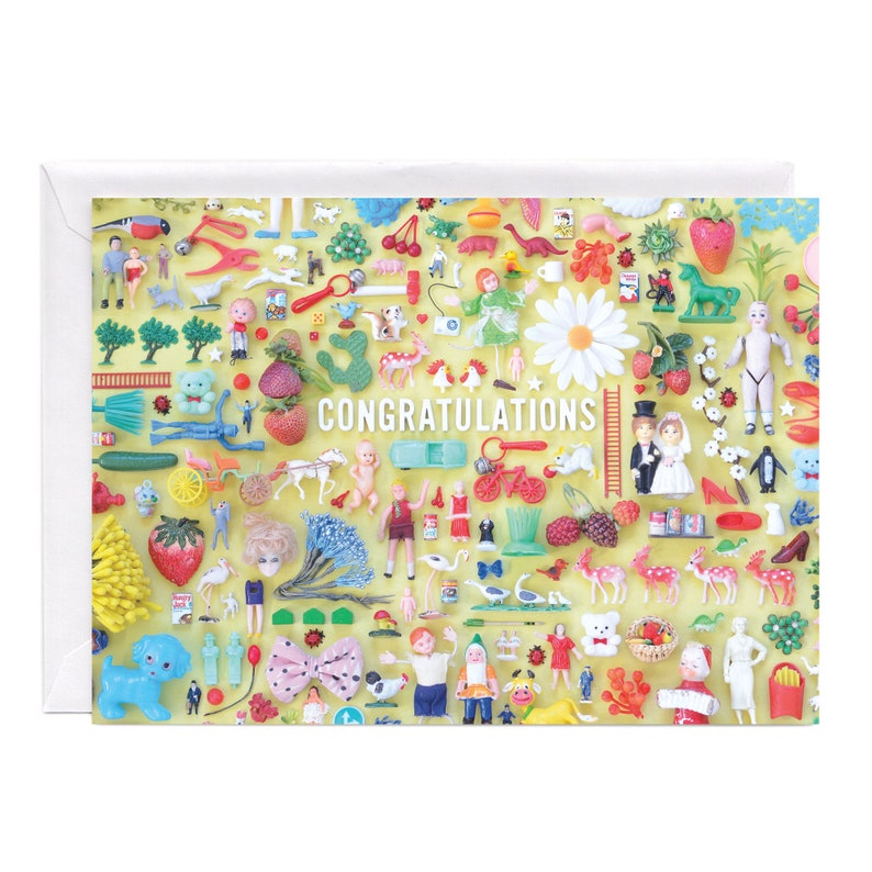 Tiny Things Congratulations Collection Greeting Card  Happy image 0