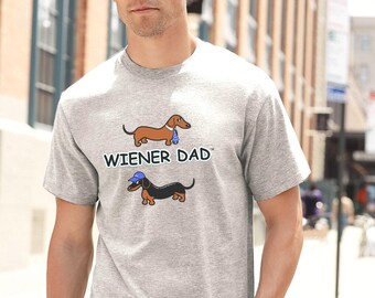 67ba9c5e Dachshund T-Shirt Wiener Dad
