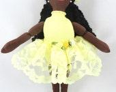 African American Ballerina Doll - Black Doll