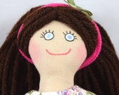 Brunette Dress Up Doll - Toy Doll for Kids