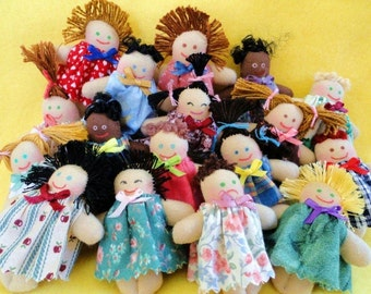 Mini Dolls Pocket Pals - Toys For Kids - Baby Dolls - Handmade Gifts