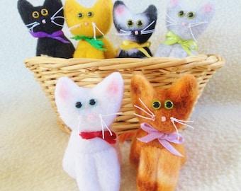 KITTIES KITTIES  KITTIES  To Adopt - Cat Dolls - Toys For Kids Or Adults - Handmade