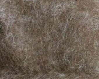 Shetland Wool Batt Brown