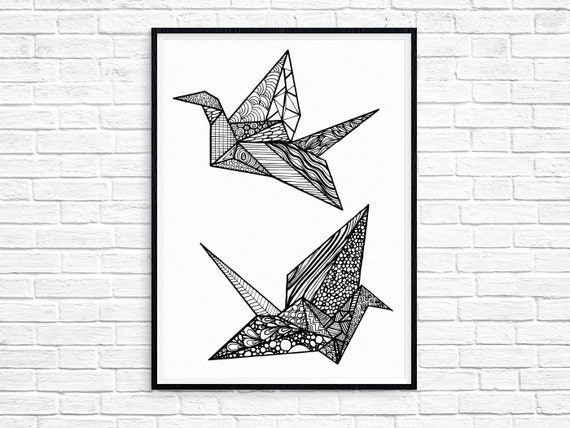 origami crane | FROM BANGKOK WITH LOVE | 428x570