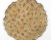 Amoeba Jigsaw Puzzle - one of a kind wood jigsaw puzzle, laser cut