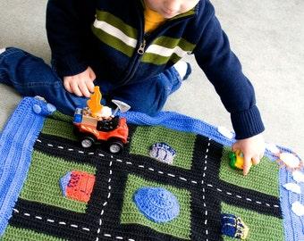 Crochet Pattern--Play Mat