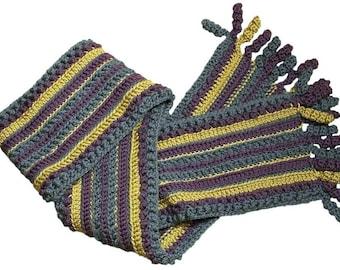 Crochet Pattern--Stephanie Scarf
