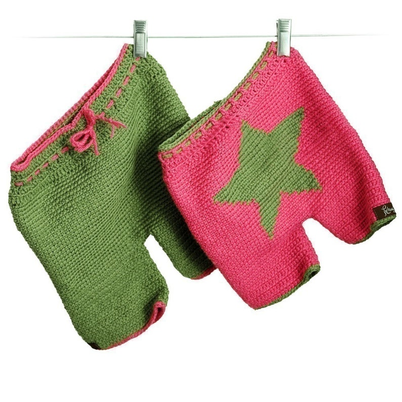 Crochet PatternStar Shorties or Longies image 0