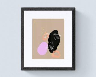 Lucid Dreaming Darla Art Print