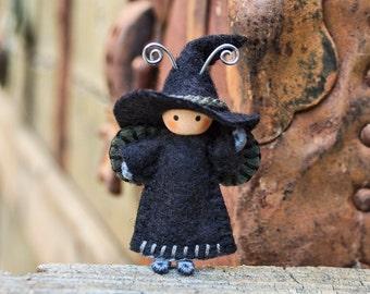 Witch Doll Bug Halloween Tiny Bendy