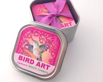 BIRD ART in a Box - Matching Game - PRE order