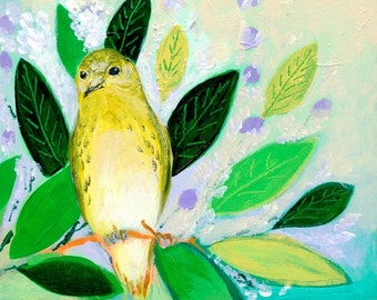 The NeverEnding Story Final Chapter #16 (yellow Warbler) PRINT by JENLO