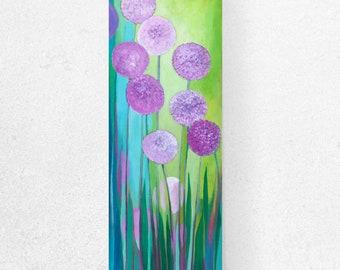 Modern Allium Garden - Fine Art Print by Jenlo