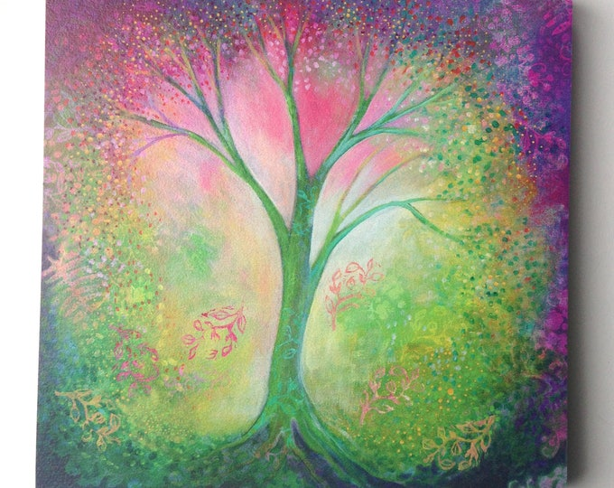 Featured listing image: Mystical Tree of Life Art - Fine Art Print by Jenlo