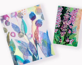 Painting with Joy Dot Journal - 6 designs by Jennifer Lommers
