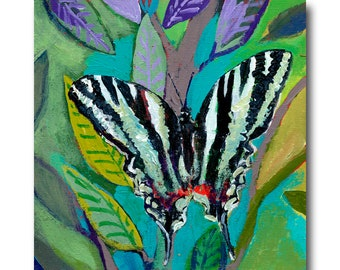 Zebra Striped Butterfly Print #108 from The NeverEnding Story Final Chapter by JENLO