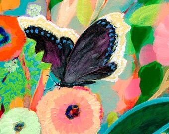The NeverEnding Story Final Chapter #22 (Mourning Cloak Butterfly) PRINT by JENLO