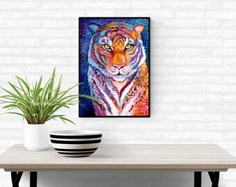 Tiger Print by Jenlo
