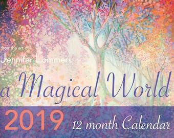 a Magical World 2019 Calendar of Art by Jenlo
