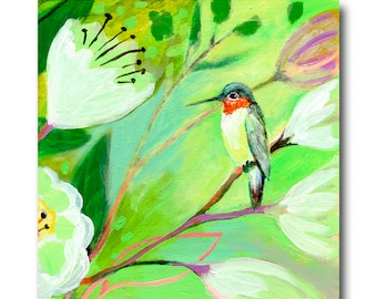 Little Hummingbird Print #112 from The NeverEnding Story Final Chapter by JENLO