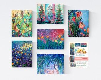Follow Your Dreams Set B - Blank Note Cards by Jenlo