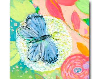 Blue Butterfly Print #33 from The NeverEnding Story Final Chapter by JENLO