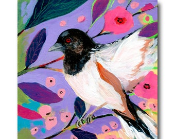 Towhee Bird Print #109 from The NeverEnding Story Final Chapter by JENLO