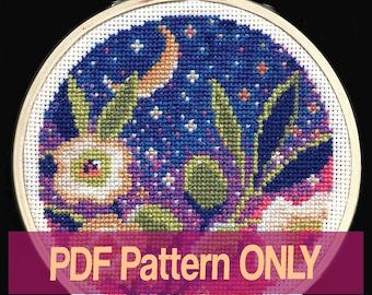 Olive Branch - cross stitch PDF pattern