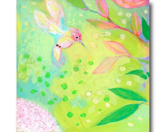 Hummingbird Print #49 from The NeverEnding Story Final Chapter by JENLO