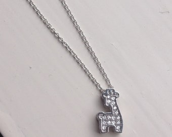 Baby Giraffe necklace for charity