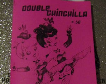 Double Chinchilla Art Zine #38