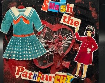 Smash It  {Original Collage}