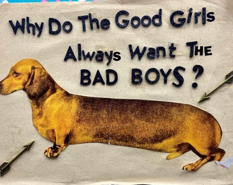 the bad boys {Original Collage}