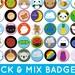Rafaela Edwards reviewed Pick & Mix Kawaii Badges - choose any 2, 4 or 10 designs