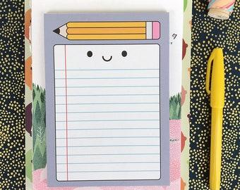 Happy Stationery Kawaii Notepad for Lists