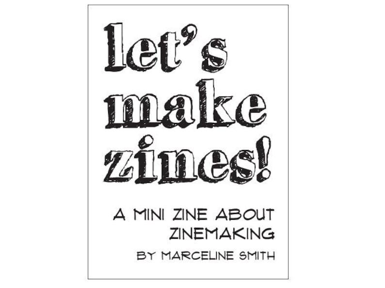 Zinemaking PDF  Let's Make Zines image 0