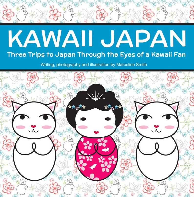 Kawaii Japan PDF zine  travel writing photography and image 0