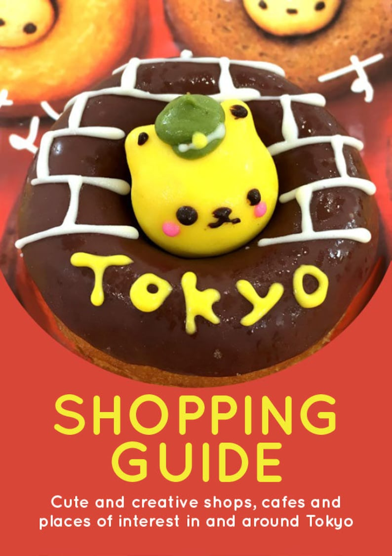 Tokyo Shopping Guide  Cute and creative shops cafes and image 0