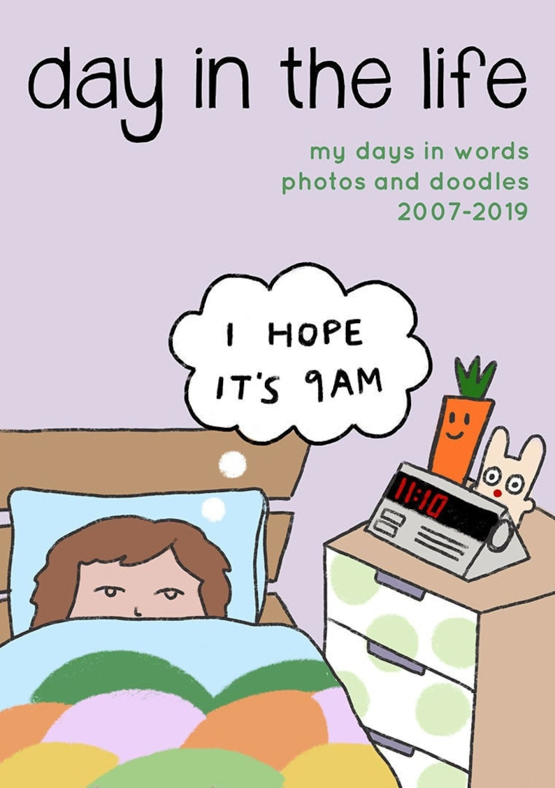 Day in the Life Zine 2007-2019  Digital PDF image 0